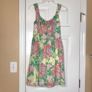 Lily Pulitzer floral dress